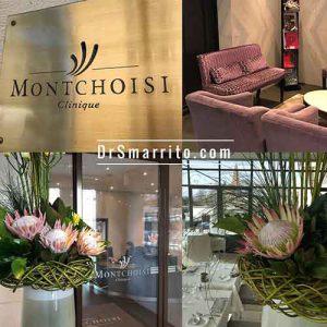 La clinique de Montchoisi à Lausanne